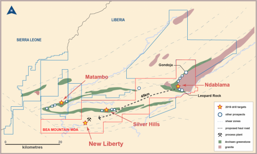 NDABLAMA DRILLING COMPLETE AND EXPLORATION UPDATE