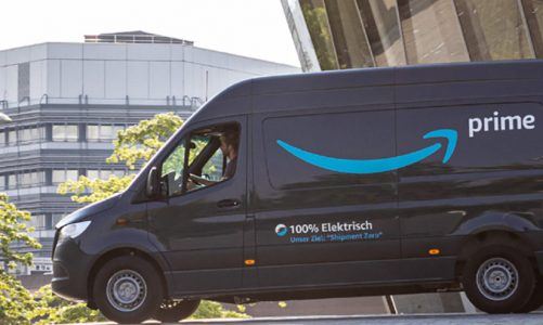 Amazon to add 1,800 EV's to delivery fleet in Europe
