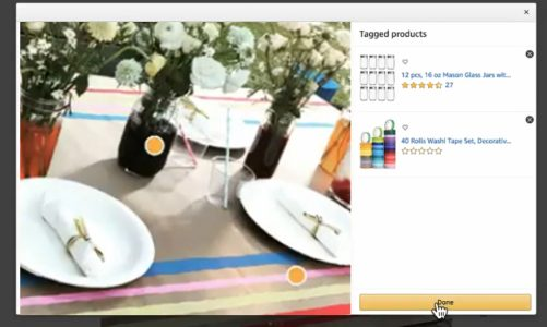 How to add Amazon shoppable images to Brand Stores