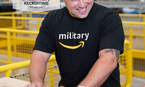 Amazon invite military talent to join their teams