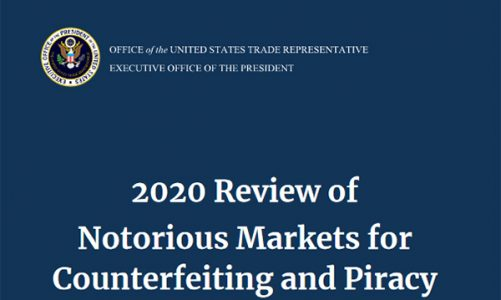 2020 Review of Notorious Markets includes Amazon Europe