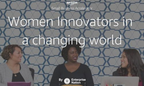 Amazon and Enterprise Nation Women in Tech event
