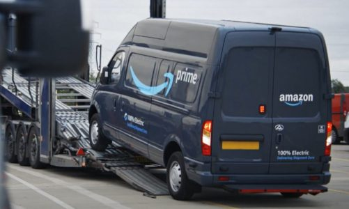 Amazon drive sustainability with electric vehicles