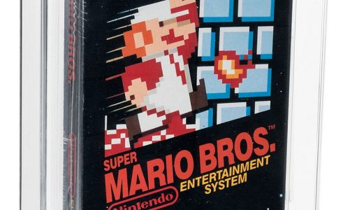 The most expensive video game ever! They sell a sealed cartridge of 1986 'Super Mario Bros' for more than 13 million pesos