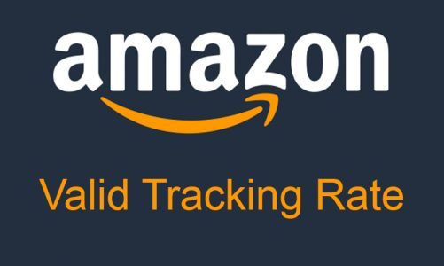Amazon VTR (Valid Tracking Rate) more detail