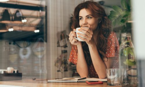 Brits' coffee break continues from home