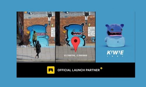 KIWIE Set to Launch NFTs Representing Real-Life Street Art in 1001 Locations