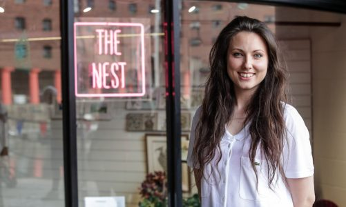 Made in Britain: Liverpool-based art gallery 'The Nest'