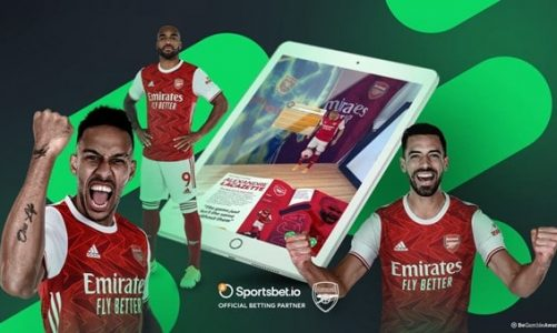 Sportsbet.io and Arsenal FC Launch Augmented Reality Matchday Programme