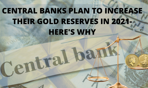 Central Banks Plan to Increase their Gold Reserves in 2021- Here's Why