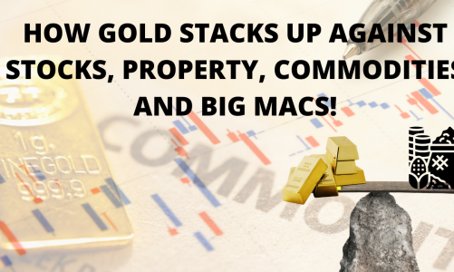 How Gold Stacks Up Against Stocks, Property, Commodities and Big Macs!