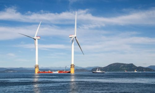Shell and Scottish Power submit plans for floating offshore windfarms
