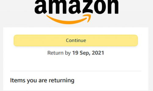 Changes to Amazon Prepaid Returns Label feature