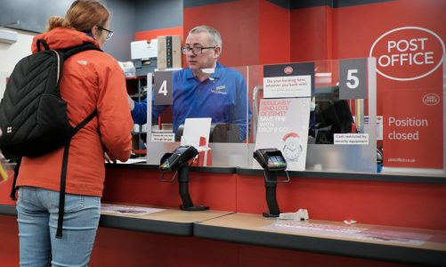 Amazon Post Office Click & Collect service