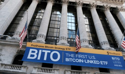First US Bitcoin ETF Approaches Futures Contract Limit Days After Launch